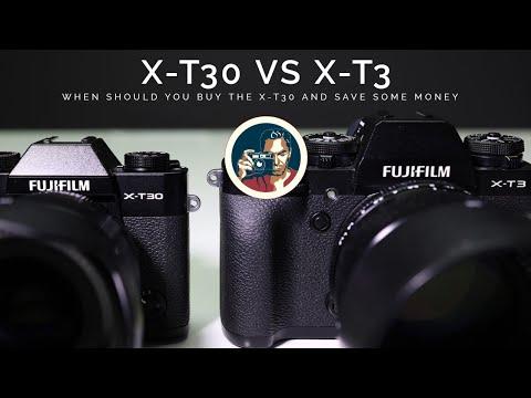 FUJIFILM X-T3 or FUJIFILM X-T30. Which camera is best?