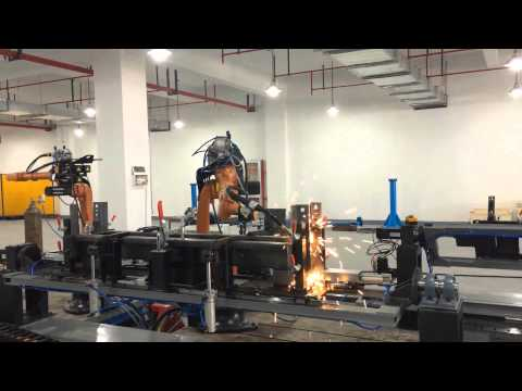 STEP robot lift welding job in Canny