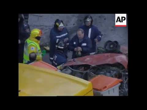 SPAIN: MADRID: CAR BOMB EXPLOSIONS: AFTERMATH
