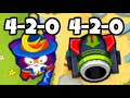 أغنية Can You Beat CHIMPS Mode With Only 4 2 0 Towers Bloons TD 6
