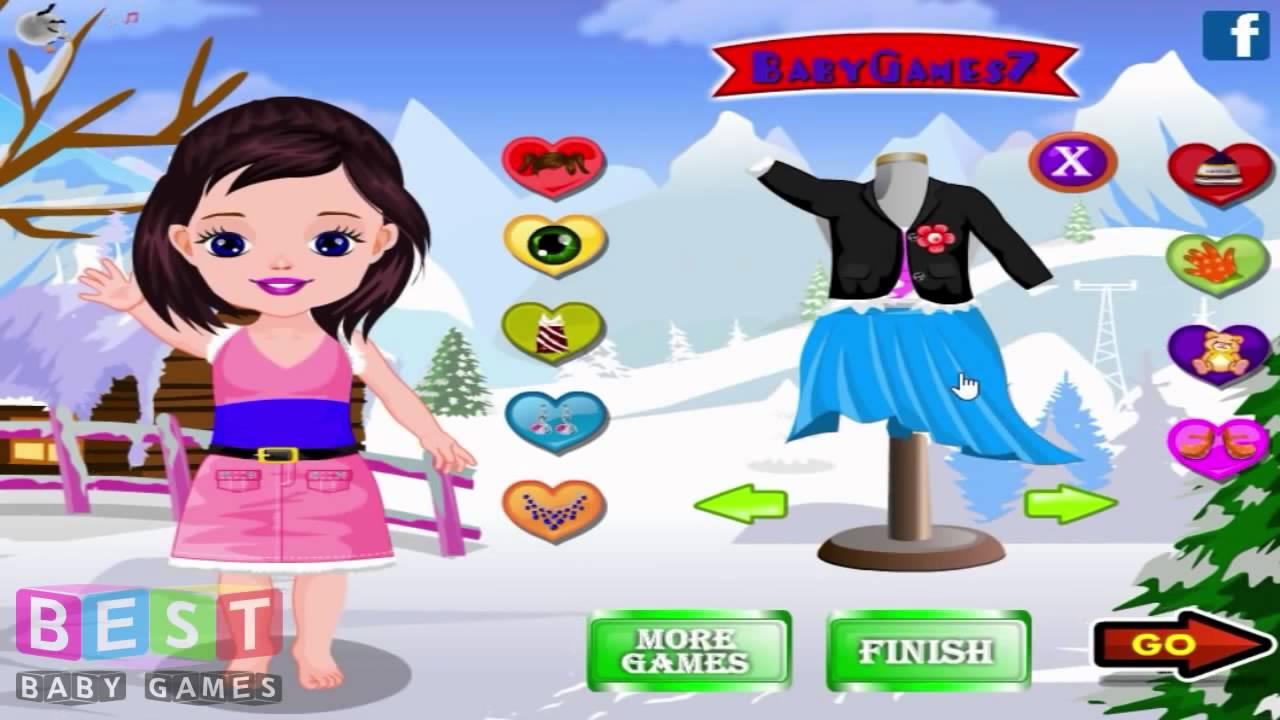 Juegos De Vestir Bebes En Invierno 720p