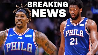 Whats upppppppppppppppppppwe have breaking newsssssthe sixers are signing dwight howardgreat help for joel embiid and veteran ben simmonsnba news   phila...