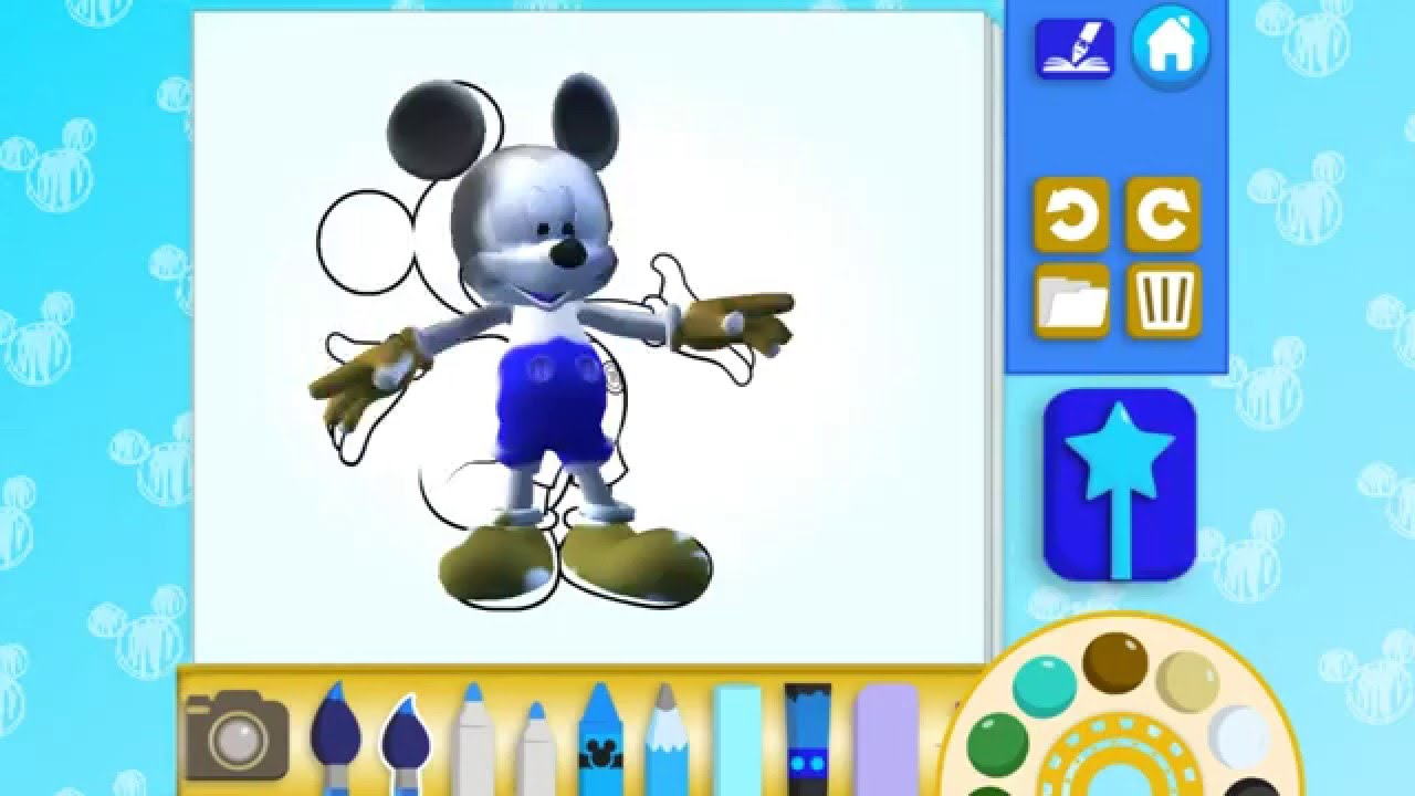 Disney Color Play Google Store App Review Gameplay
