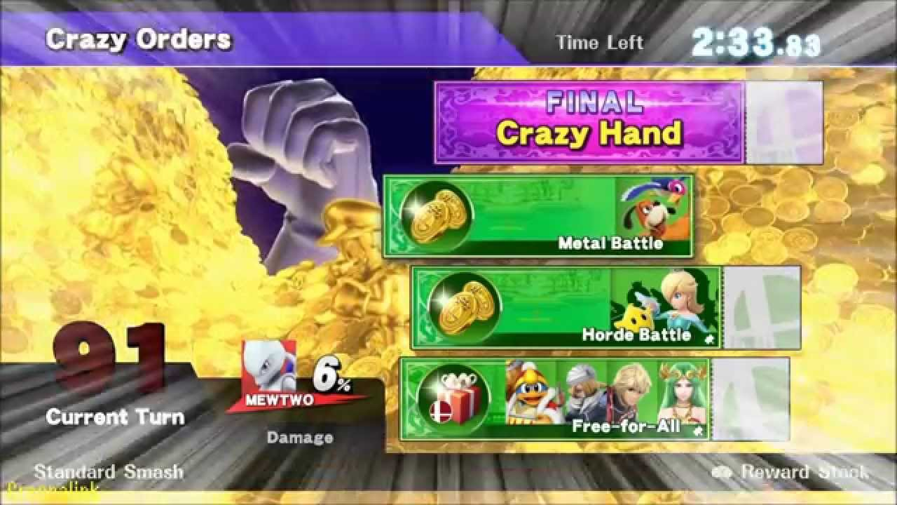 how to get custom moves in smash 4 wii u