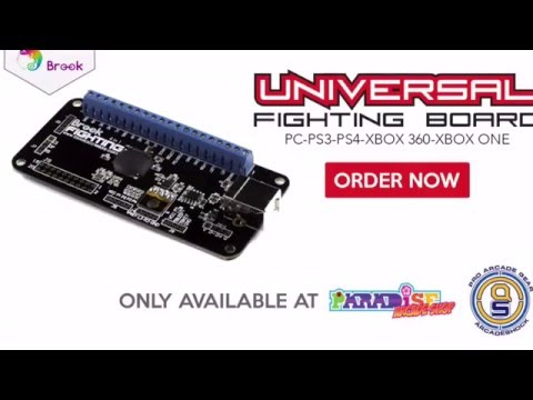 Brook Universal Fighting Board - First Look & Basic Installation Guide