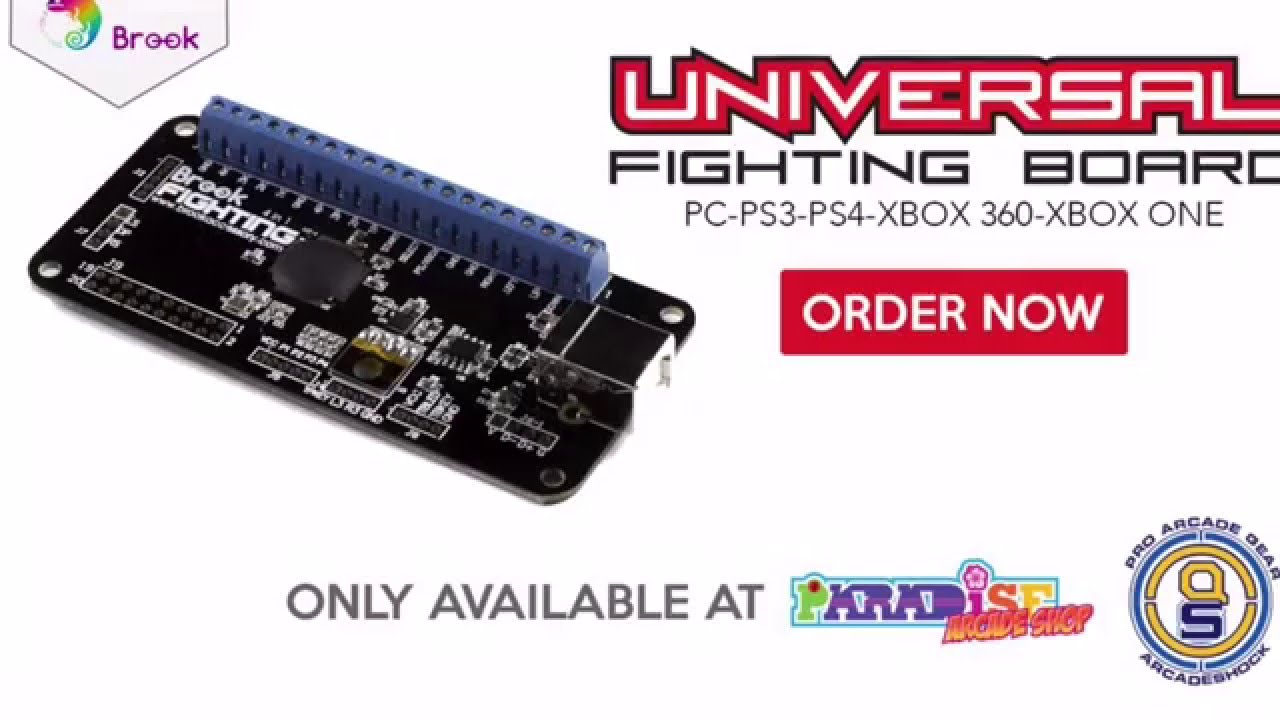 brook universal fighting board - first look & basic installation guide -  youtube
