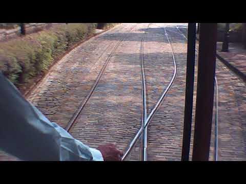 National Tramway Museum Victoria Park to Stephenson Place on London County Council 106 19th May 2018