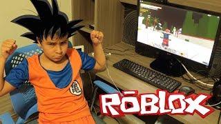 GOKU DO DRAGON BALL JOGA ROBLOX!