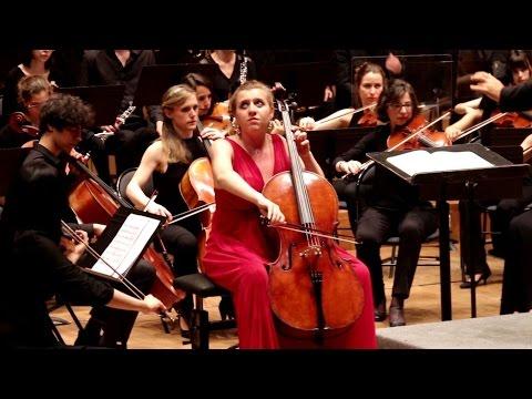 DVOŘÁK Concerto pour violoncelle - Hanna SALZENSTEIN - Orchestre symphonique du CRR de Paris (cello)