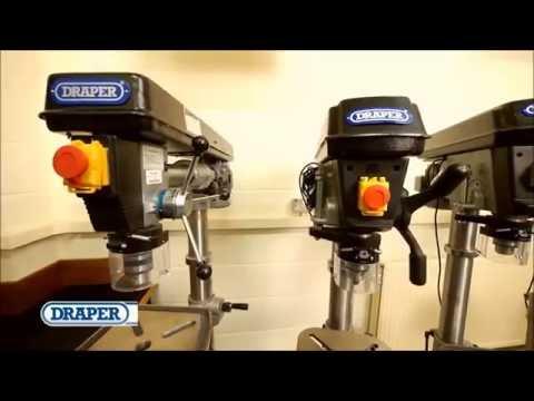 Draper Bench Floor Standing Drills from Power Tools UK