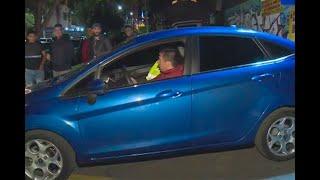 Robaron un carro, pero conductores de apps les tenían preparada una sorpresa