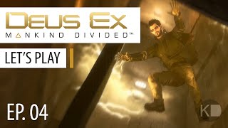 Deus Ex: Mankind Divided - PC Playthrough - Part 4 | Neuroplasticity Calibrator for Koller
