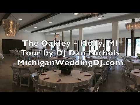 the-oakley-wedding-reception-&-venue-tour-holly,-mi