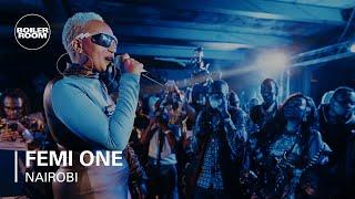 Femi One | Boiler Room x Ballantine's True Music Nairobi