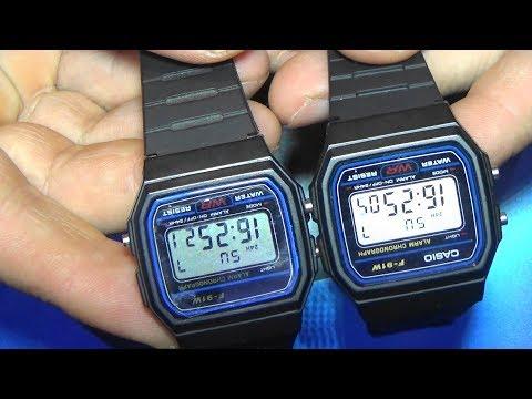 Casio F91w-1s цифровые часы Digital Clock оригинальные