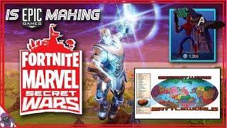 Is EPIC Making a Marvel Secret Wars Mode for Fortnite in Secret?