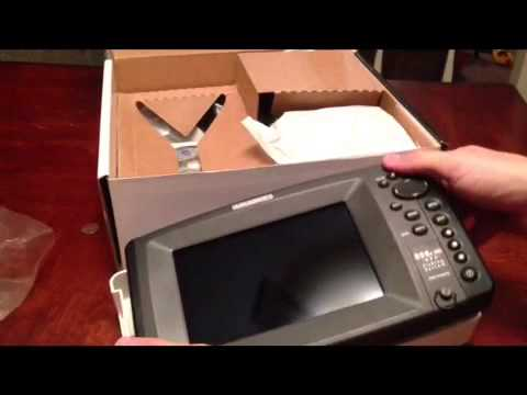 Humminbird 898c hd gps side imaging unboxing youtube for Fish finder side imaging