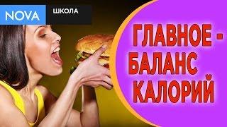 ПОХУДЕНИЕ/ Дефицит калорий