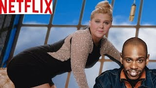 Amy Schumer Demands to Be Paid as Much as Dave Chappelle and Chris Rock By Netflix