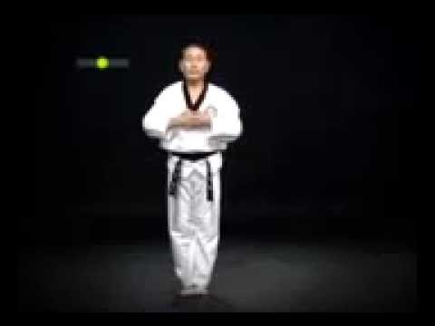 Pyongwon 4th Dan Black Belt Taekwondo Poomsae Kukkiwon