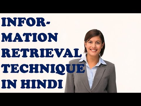 INFORMATION RETRIEVAL TECHNIQUES IN HINDI