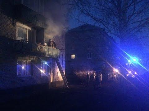 Пожар в многоквартирном жилом доме (Кунгур 14.05.2017)