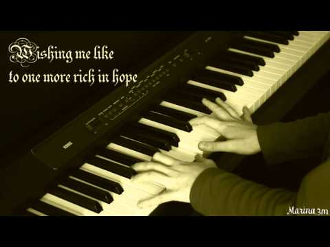 WHEN IN DISGRACE (Rufus Wainwright) piano cover + lyrics