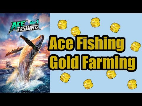 Ace Fishing: How To Gold Farm