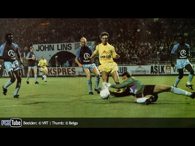 1988-1989 - Jupiler Pro League - 11. Antwerp FC - Club Brugge 1-2