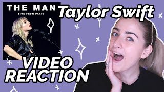 Taylor Swift - The Man Live in Paris REACTION!