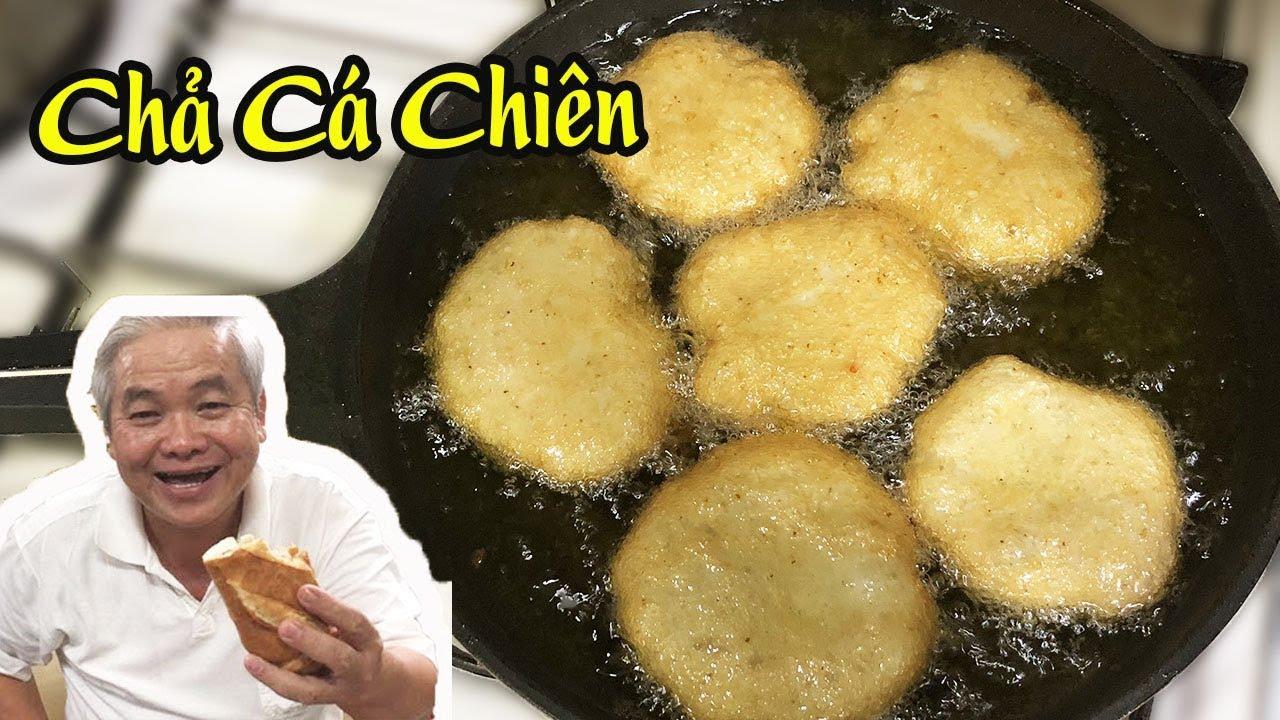 Cách Làm CHẢ CÁ THÁC LÁC Chiên Ngon Và Dai (Vietnamese fish cake )