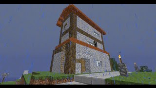 Minecraft: Blowing up an old general store in Glavnigrad
