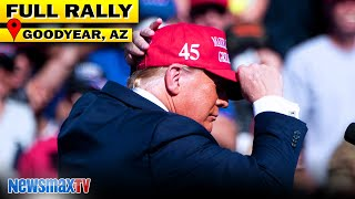 LAST WORD: Trump rallies at crucial campaign stop in Goodyear, AZ