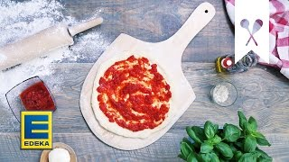 Repeat youtube video Pizza backen | Tutorial | EDEKA