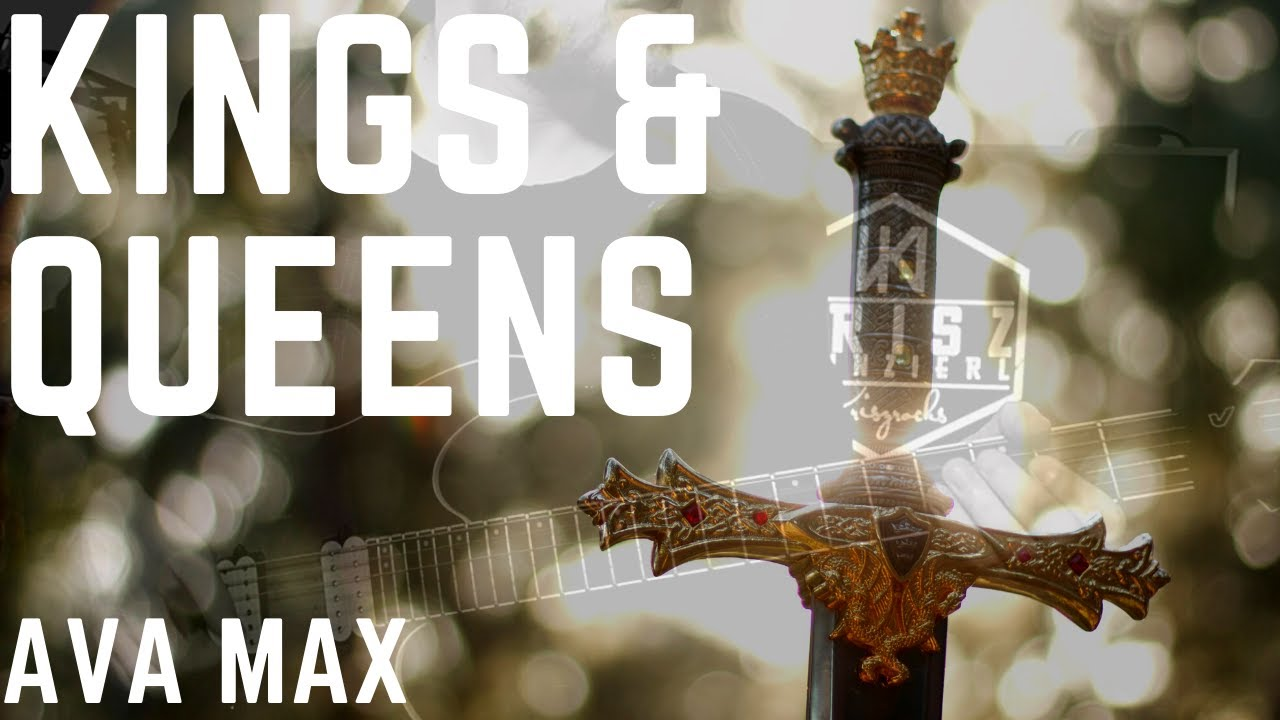 Ava Max - Kings & Queens (Metal Guitar Cover) WITH TABS