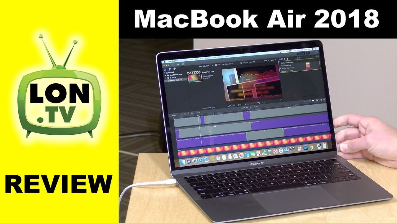 New Macbook Air 2018 Review Vs Macbook Pro Performance Gap Wider