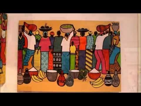 Ecole De Peinture De Poto Poto Youtube