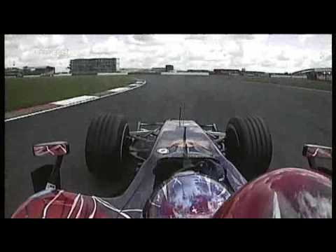 Vitantonio Liuzzi Onboard FP3 F1 2007 Britain