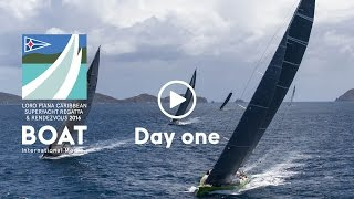 Day one - Loro Piana Caribbean Superyacht Regatta and Rendezvous 2016