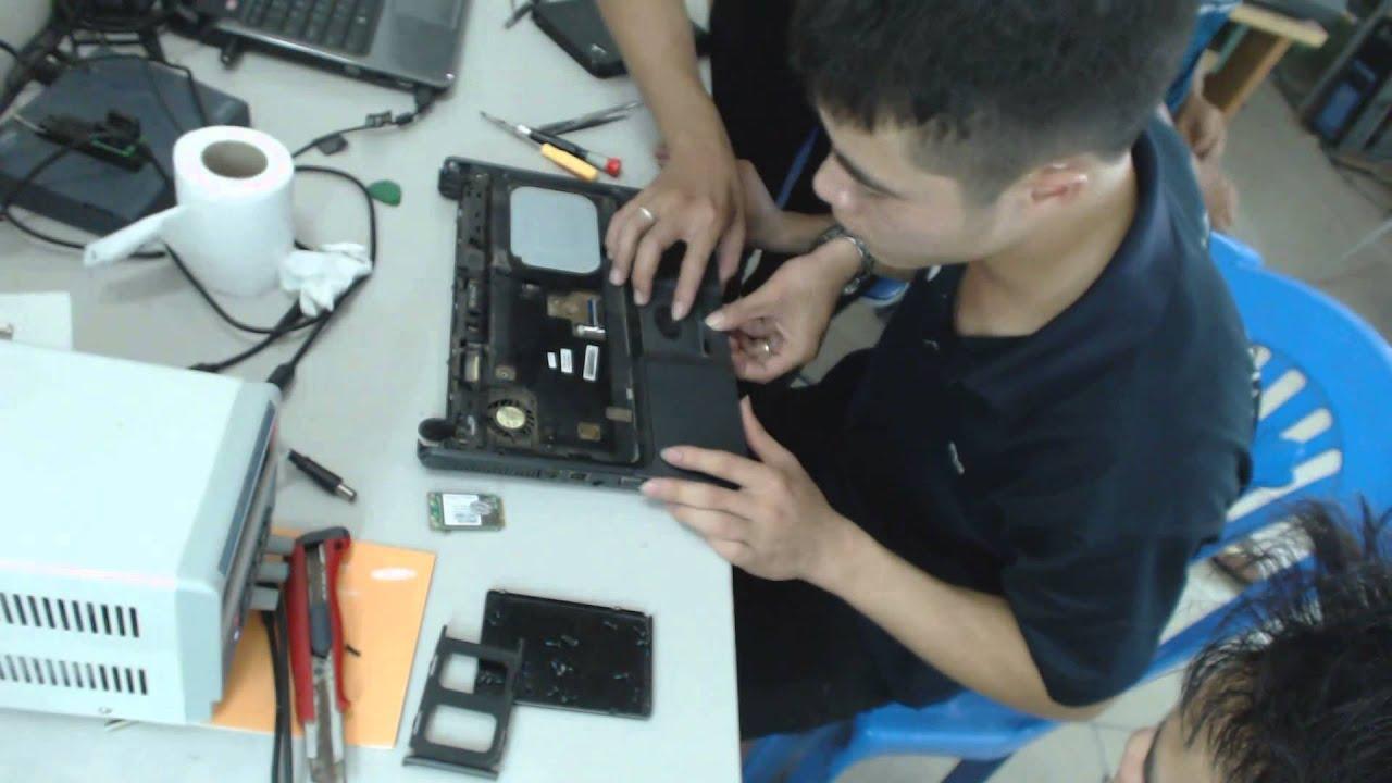 Hướng dẫn vệ sinh bảo dưỡng Laptop HP 520