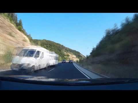 Makaza Road - Bulgaria to Greece Timelapse