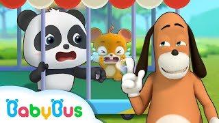 도아저씨가 키키를 곡마단으로 보내요!! 키키가 위험해요! 키키묘묘 생활동화 애니메이션 베이비버스 인기동화 모음 BabyBus