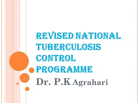 T.B( tuberclosis) treatment and control program { RNTCP}