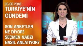 Son anketler ne diyor? Seçmen nabzı nasıl anlatıyor? - Türkiye'nin Gündemi 06.06.2018 Çarşamba