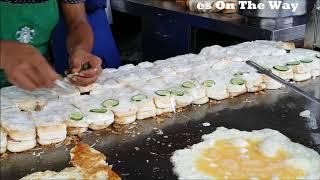 Al Madina Burger street Foods Of Karachi Pakistan
