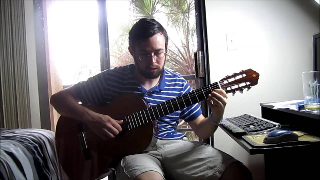 Senorita From Mel Bays Method For Classical Guitar Youtube