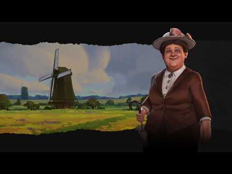 Netherlands Theme - Industrial (Civilization 6 OST) | Gaillarde L'esmerillone