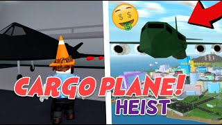 Mad City New Cargo Plane Heist Update! (Roblox, Nighthawk, Crowbar Melee Weapon, Robbery)