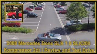 2008 Mercedes Benz SLK 1 8 Slk200 Kompressor 2dr | Review and Test Drive