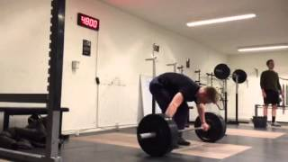 "Snatch: 90 x 3 reps by Philip ""The Gift"" Thun Bisgaard"